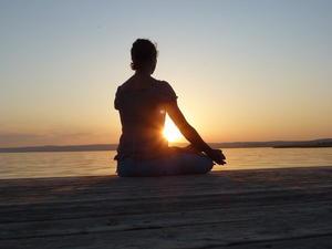 tramonto yoga