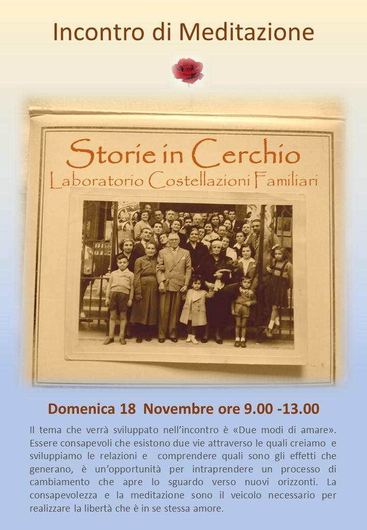 Storie in Cerchio 18 Novembre